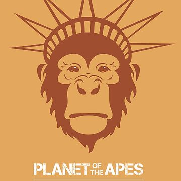 Planet of the Apes by MoviePosterBoy