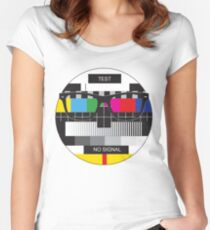 Retro Geek Chic - Headcase Women's Fitted Scoop T-Shirt