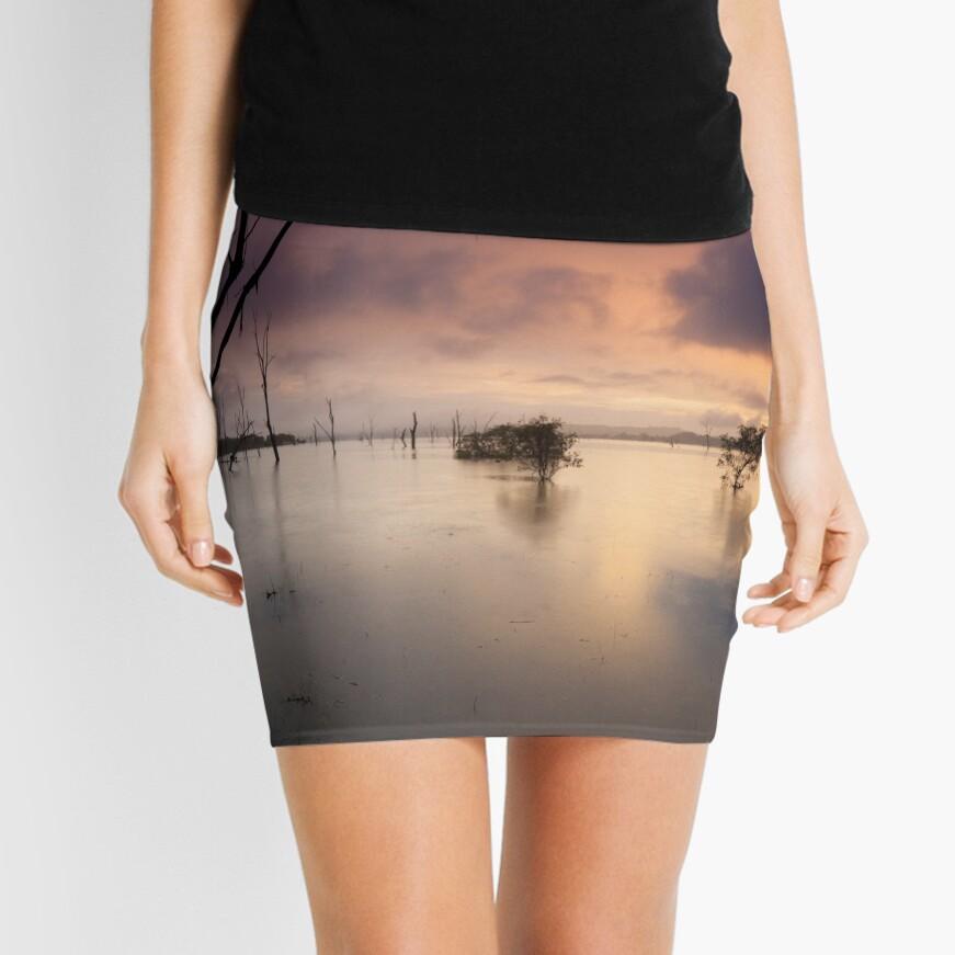 Flooded valley Mini Skirt