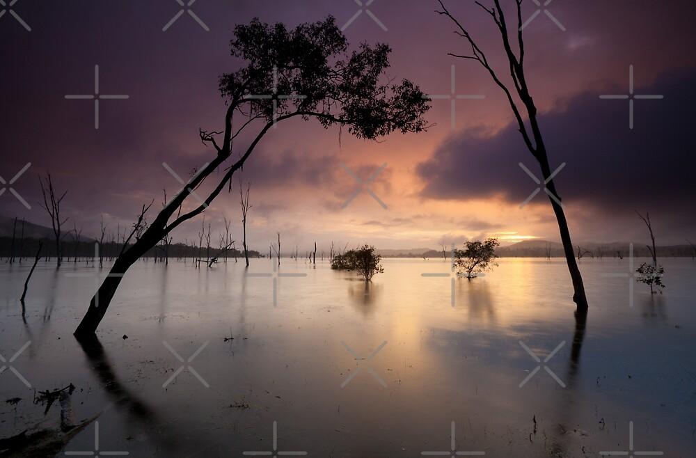 Flooded valley by Mel Brackstone