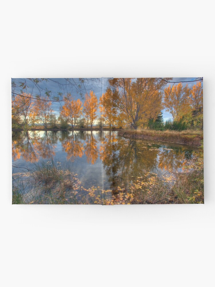 Alternate view of Autumn in Otago County Hardcover Journal