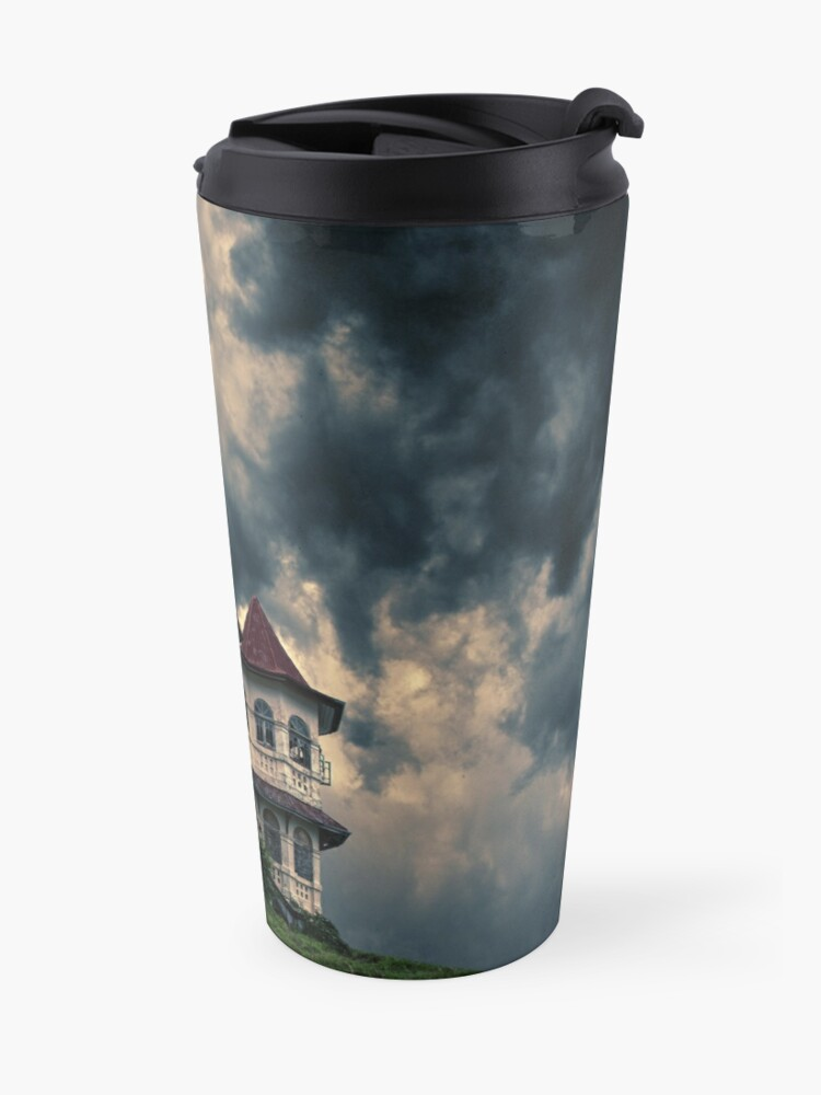 Alternate view of Storm on the horizon Travel Mug