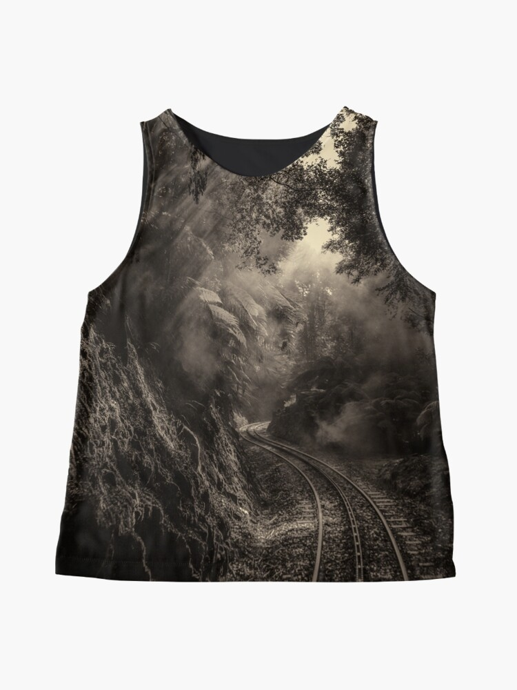 Alternate view of Steam and rainforest Sleeveless Top