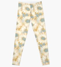 Happy Patterns Walking Among Daisies Leggings