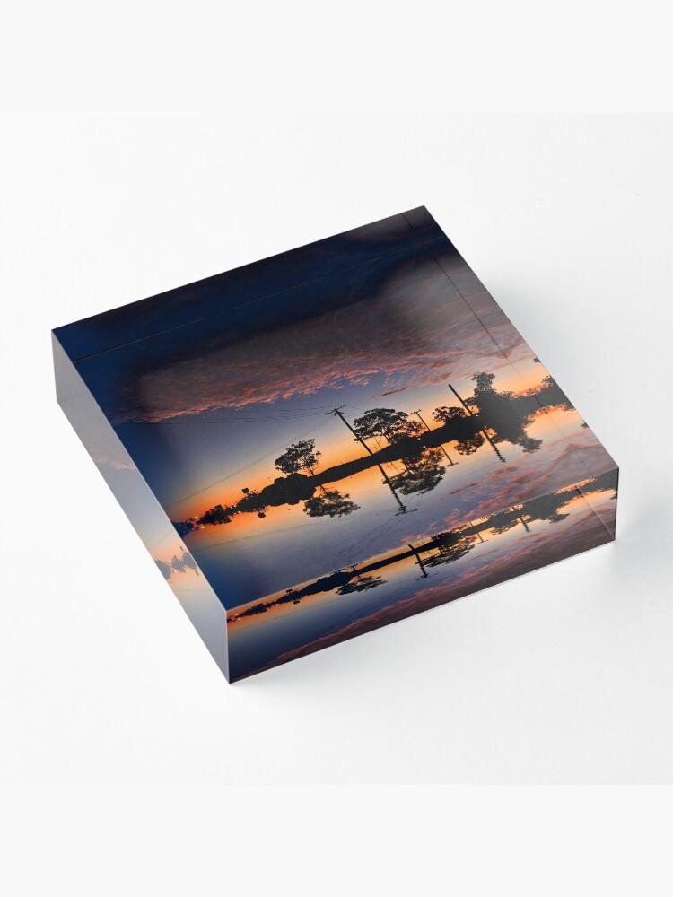 Alternate view of That sky Acrylic Block