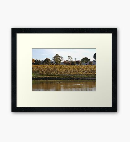 Yarrawood Home - Country Victoria Framed Print