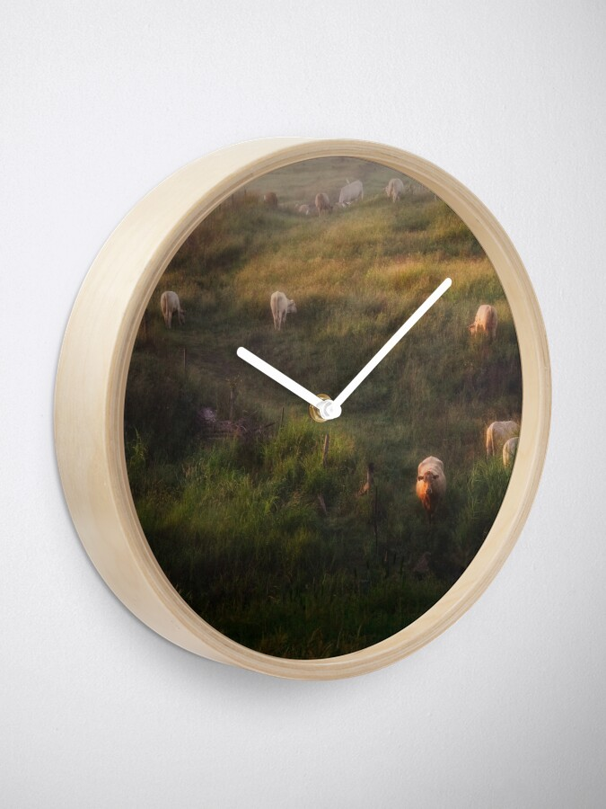 Alternate view of The cows Clock