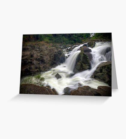 Mclaren falls, Tauranga Greeting Card