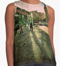 Fascinating Fed Square Sleeveless Top