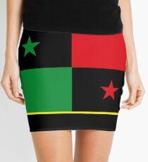 Afro Panamanian Flag Mini Skirt