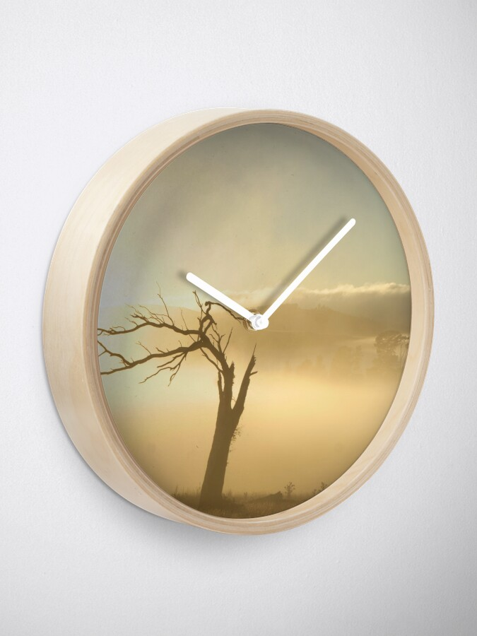 Alternate view of Leaning Clock