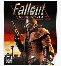 Fallout New Vegas Poster Poster