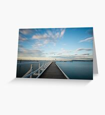 Winter skies Greeting Card