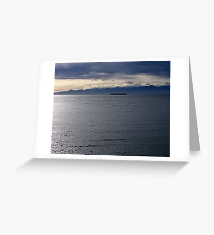 Passing by Greeting Card