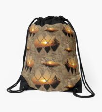 Evening Glow Drawstring Bag