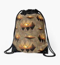 Evening Glow Drawstring Bag