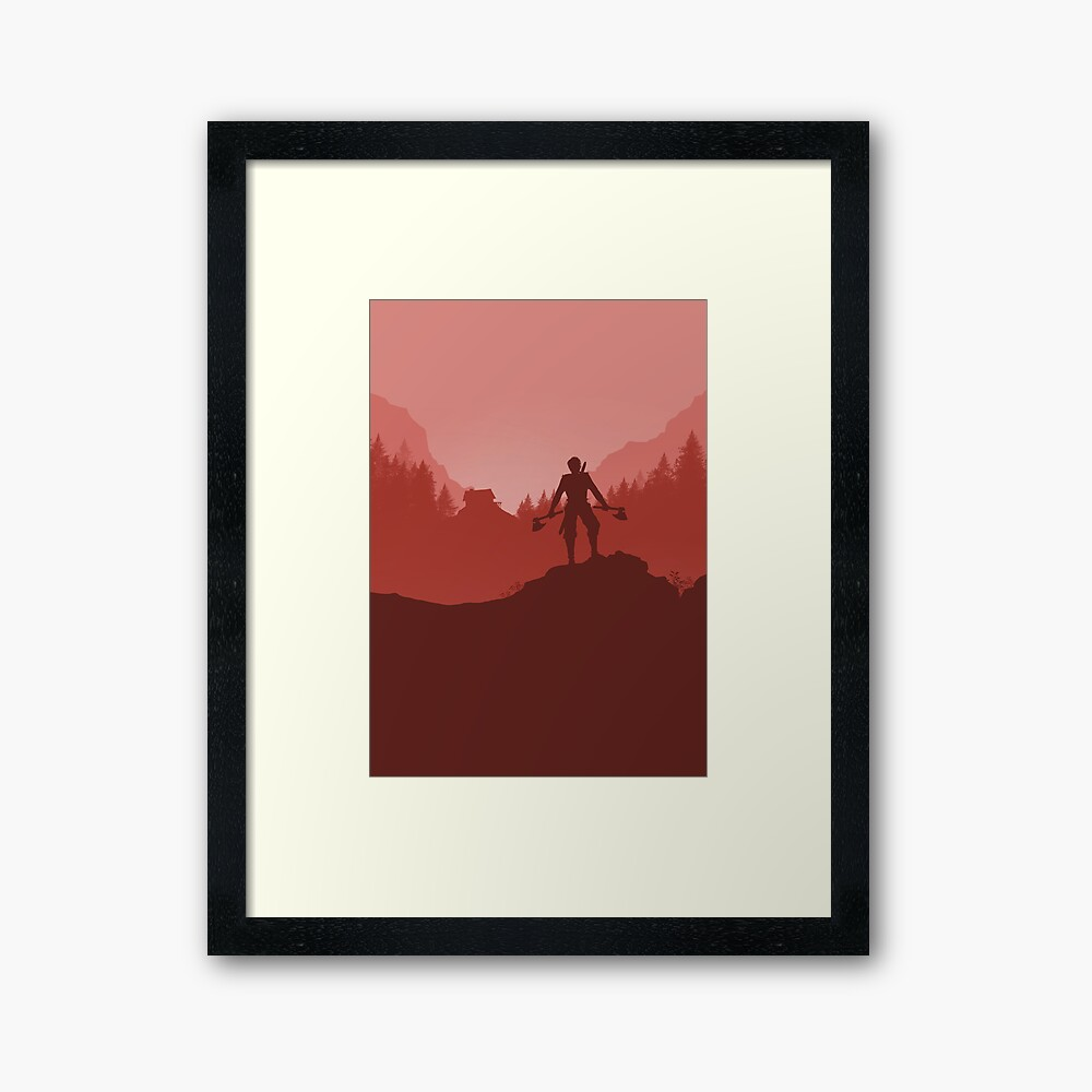The Barbarian Framed Art Print