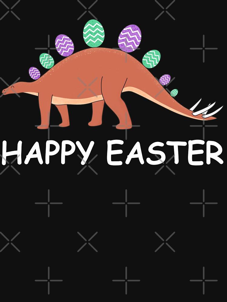 Frohe Ostern Dinosaurier von Distrill