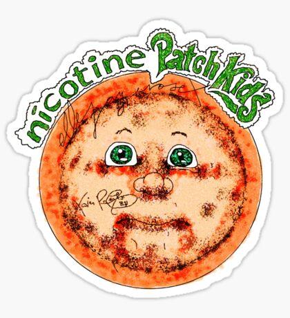 Nicotine Patch Kids Sticker