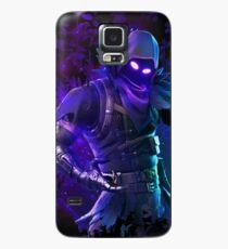 Funda/vinilo para Samsung Galaxy Battle Royale Raven azul oscuro oficial oculto