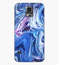 Ocean Swirls - Blue Planet Abstract Modern Art Case/Skin for Samsung Galaxy