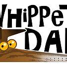 Whippet Dad (dunkel gestreift) von RichSkipworth