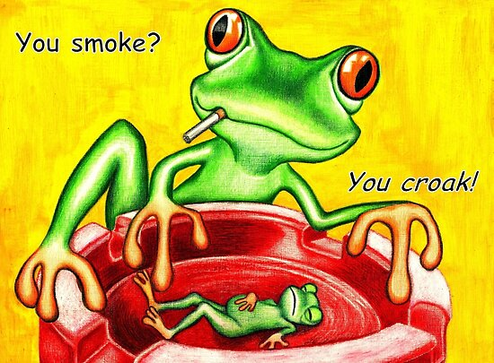 You smoke? by Margaret Sanderson