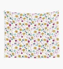 Bees and Butterflies Wall Tapestry