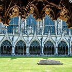 Great Cloister at Canterbury Cathedral, Kent, England von Erwin G. Kotzab