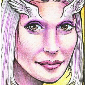Angel Eyes - Unusual Character Series by geneploss