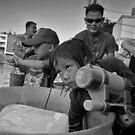 Songkran in Bangkok (1) by laurentlesax