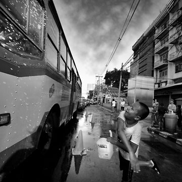 Songkran in Bangkok (4) by laurentlesax