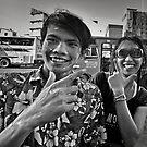 Songkran in Bangkok (6) by laurentlesax