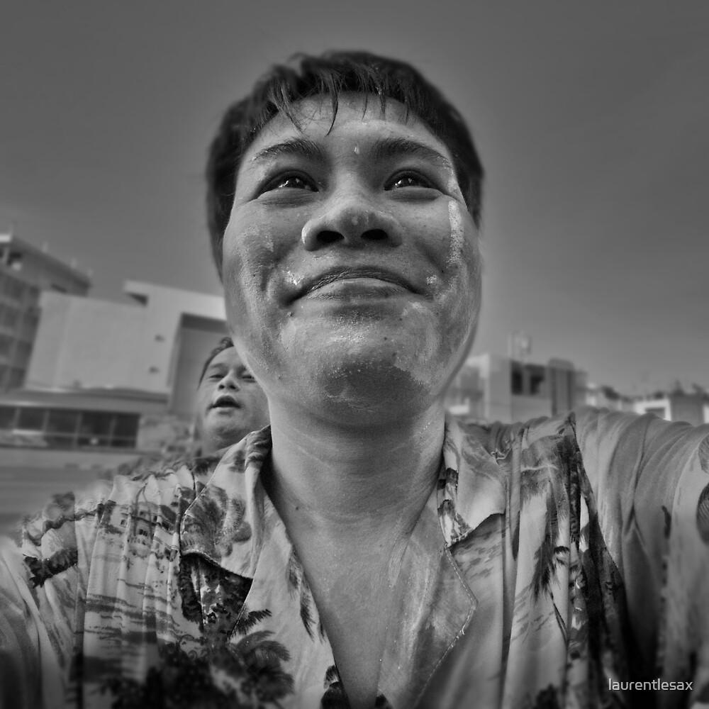 Songkran in Bangkok (11) by laurentlesax