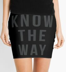 Wir kennen den Weg! Minirock