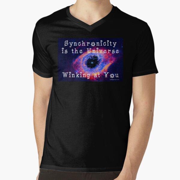 Synchronicity V-Neck T-Shirt