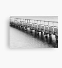 Afternoon at the jetty Canvas Print