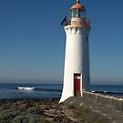 Lighthouse at Port Fairy, Victoria. by johnrf