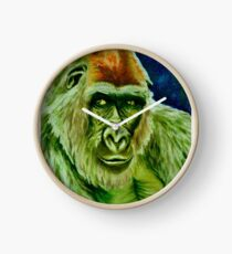 Green Gorilla Clock