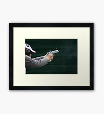 Ejecting Cartridge Framed Print