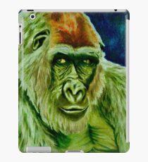 Grüner Gorilla iPad-Hülle & Skin