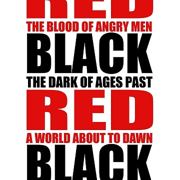 Red & Black by tothebarricades