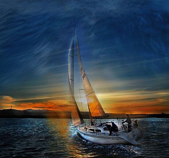 Fade To Sunset by linaji