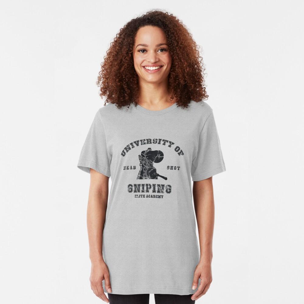 Colegio de francotiradores Camiseta ajustada