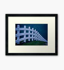 Dream Fence Framed Print