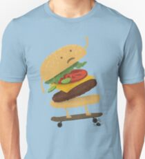 Burger Wipe-Out  T-Shirt