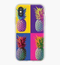 Pop Art pineapples iPhone Case