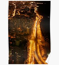 Chicago's Lake Shore Drive Poster