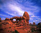 The Turtle Rock, Arches National Park by Daniel H Chui