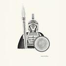 Spartan Warrior by newmindflow
